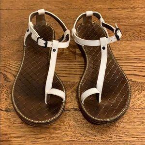 Bottega Veneta Infra Pelle S. Cuoio Sandals